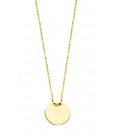 COLLIER ROND OR JAUNE