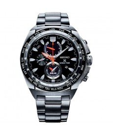 SEIKO PROSPEX World Time Solar Chronograph