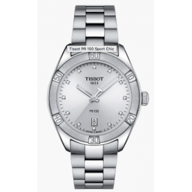 TISSOT PR100 SPORT CHIC DIAMANTS
