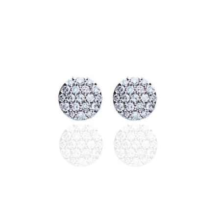 BOUCLES OR BLANC & DIAMANTS ONE MORE