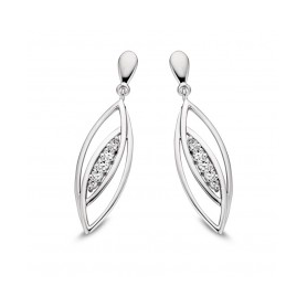BOUCLES OR BLANC