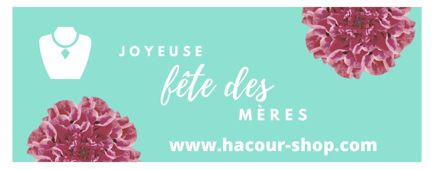 Bijoux argent/acier Fête des Mères